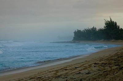 Rip Curl Pipeline Pro, Triple Crown, 2006  Waves Down the Coastline at Ehukai BeachPipeline Surf Contest   North Shore, O'ahu, Hawai'i  061210.120525