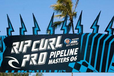 Rip Curl Pipeline Pro, Triple Crown, 2006  Ehukai BeachPipeline Surf Contest   North Shore, O'ahu, Hawai'i  061210.121319