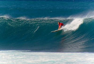 Surfing BackyardsSunset Point North Shore of O'ahu, Hawai'i  October 2003