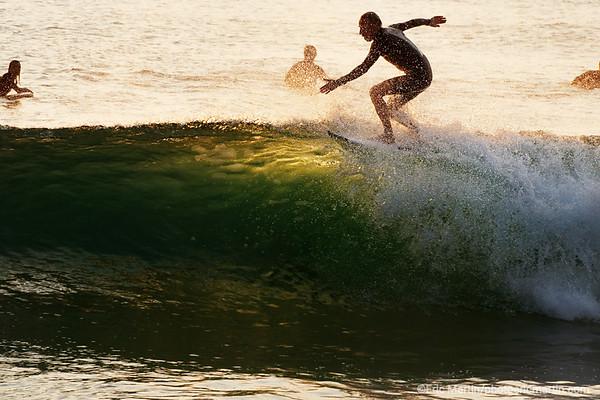 FRANCE. SURF LANDES. L ESPRIT SURF DANS LE DEPARTEMENT DES LANDES. La plage des Estagnots à Seignosse