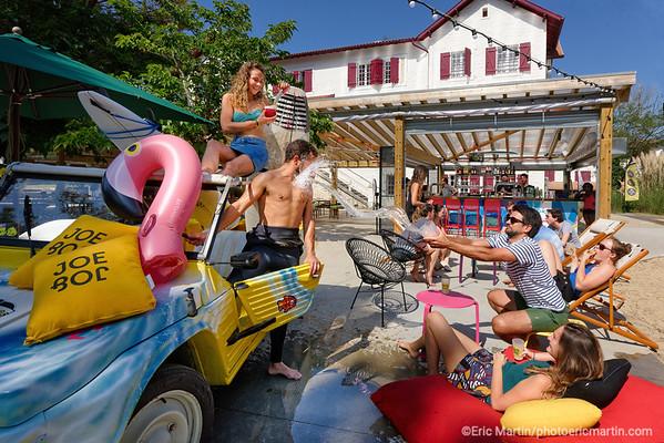 FRANCE. SURF LANDES. L ESPRIT SURF DANS LE DEPARTEMENT DES LANDES.  VILLE D HOSSEGOR. Hotel / Auberge de jeunesse Joe & Joe