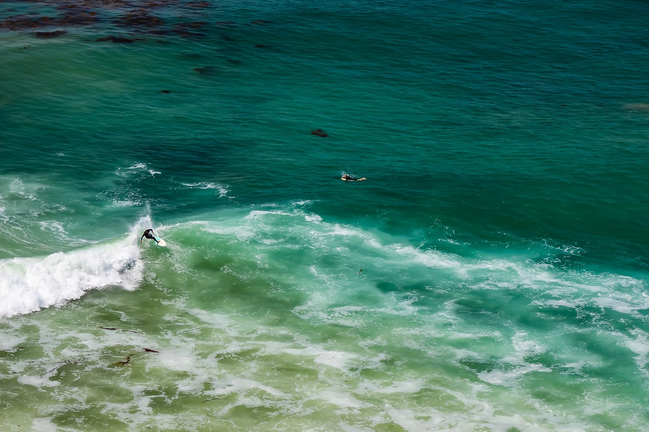 California Surf from Above