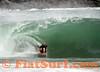 Brandon Clark dropknee tubing it! The Wedge, Newport Beach, CA (bodyboarding)
