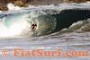 Brandon Clark dropknee, the Wedge, Newport Beach, CA (bodyboarding)
