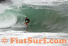 Brennan Clarke surfing the Wedge, Newport Beach, CA