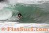 Brennan Clarke surfing the Wedge, Newport Beach, CA