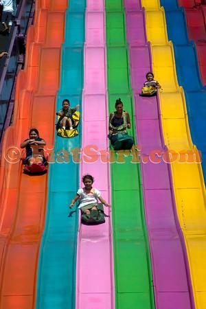 Ride the rainbow!