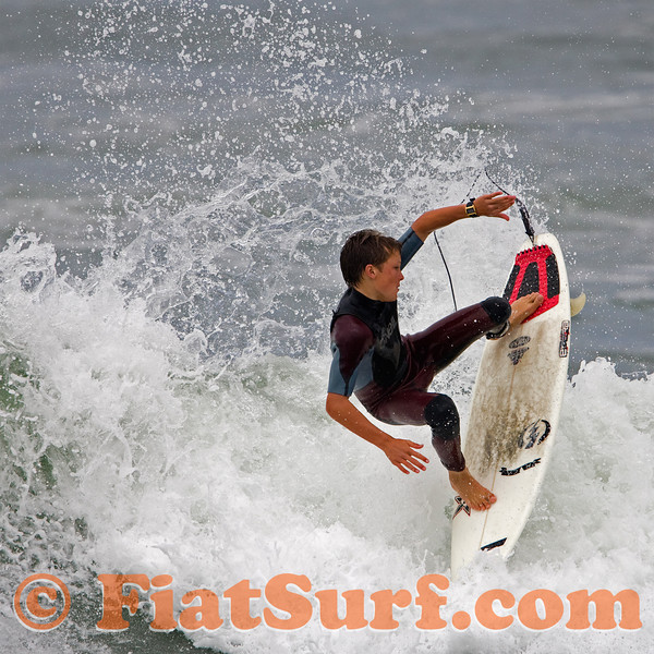 Blake Davis.  Another excellent Newps surfer-- I always look for him if he's out in the waves.  His younger bro's pretty good as well.  Keep the future alive!