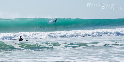 The Wall;  El Palmar.   Surfer; Danny
