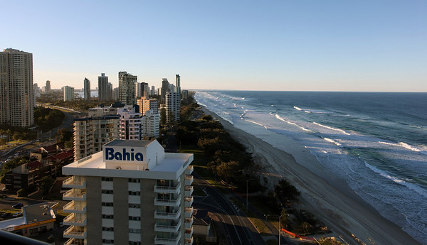 Surfers Paradise (Northerly Aspect) From Hi Surf Apts