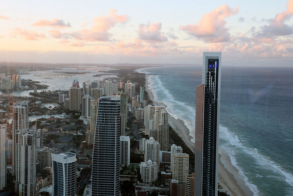 Surfers Paradise From The Q1 July 8th 2012