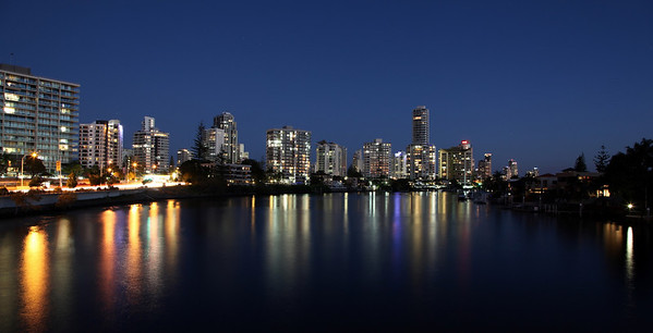 Surfers Paradise High Rises August 25th 2012