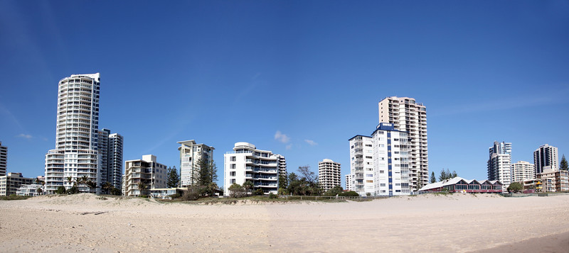 Surfers Paradise Highrises South Dec 1st 2012