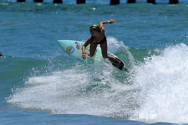 San Clemente Pier with Jazmine Dean