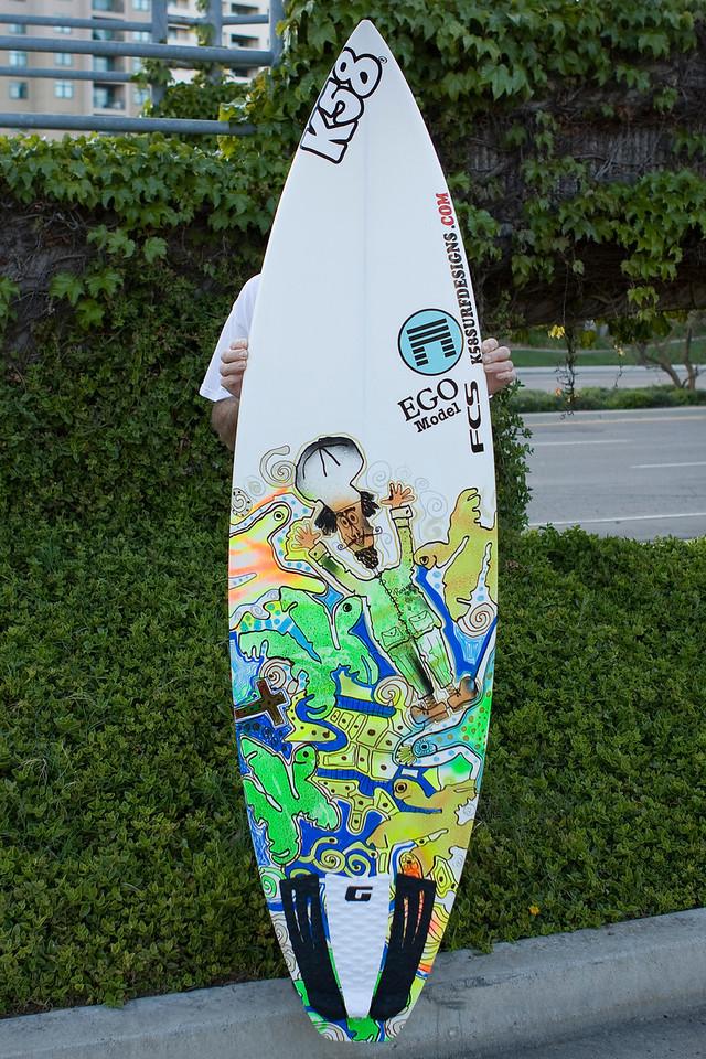 K58 Surfboards EGO Model 2009-3-25