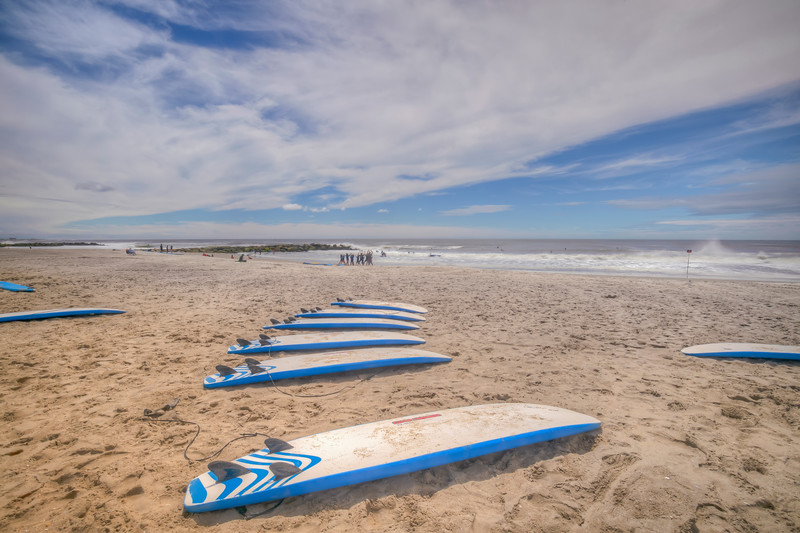 Boards In A row, Rockaway Beach