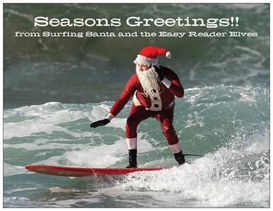 SurfingSantaChristmasGreetingCard2014 copy