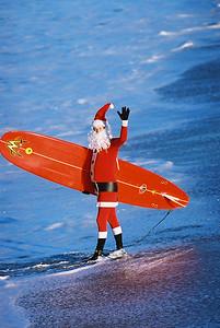 Surfing Santa 2003
