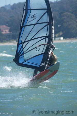 Windsurfers and Kiteboarders, 7/1/07