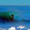 I got to spend a few days right on the beach at the Banzi Pipeline in 1967.  Early morning there were ususally one or two surfers on perfect waves.