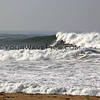 2018-12-18_Bolsa HQ_3.JPG<br /> <br /> A big WNW swell hit North Orange County Tuesday.  An unidentified surfer braves the big surf at Bolsa Chica State Beach.