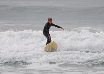 Boys out Surfing
