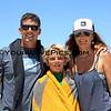 Peter, John and Tara Mel celebrate John's National title in NSSA Explorer Menehuene Division