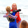 Brother Finn McGill rushes to congratulate his sister, Dax McGill, after winning the 2012 NSSA National Open Womens Divison