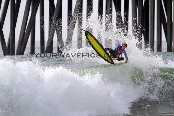 HBHS, Edison & Marina - Sunset Surfing League 2014 Allstars 12/10/14
