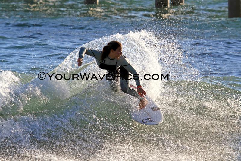 US Open Freesurf Warmup - Coco Ho
