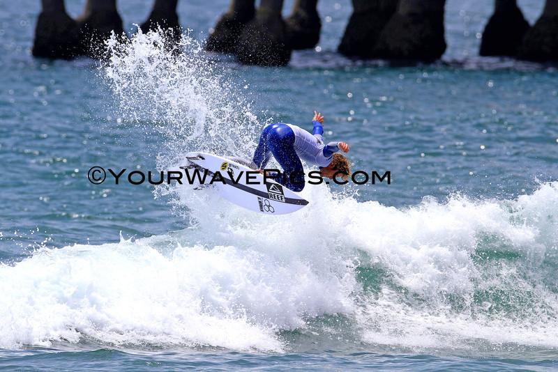 US Open of Surfing 2012, Day 4 - Mens Round of 48 - Kai Otton