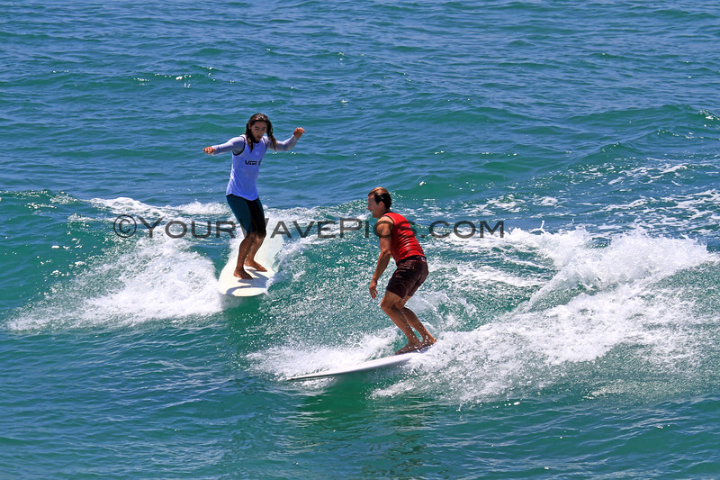 2019-08-01_Duct Tape Inv_Zack_Flores_Troy Mothershead_1.JPG<br /> <br /> US Open of Surfing 2019 - Duct Tape Invitational