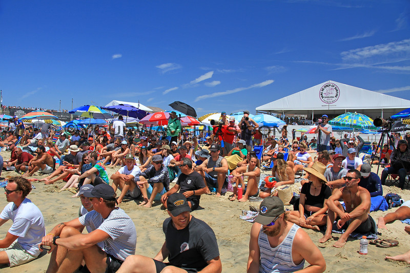 2019-08-04_US Open_2_Finals Day Crowds.JPG<br /> <br /> Finals Day, US Open of Surfing 2019