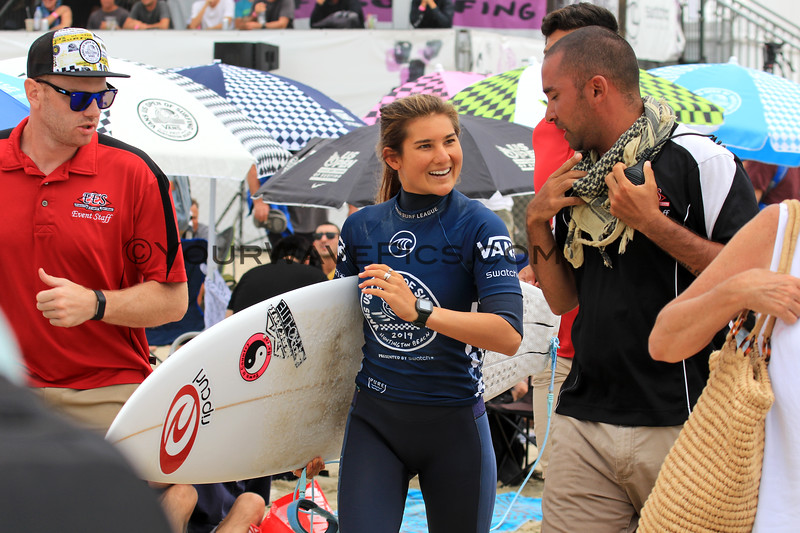 2019-08-04_US Open_Brisa_Hennessy_2_Semis.JPG<br /> <br /> Finals Day, US Open of Surfing 2019
