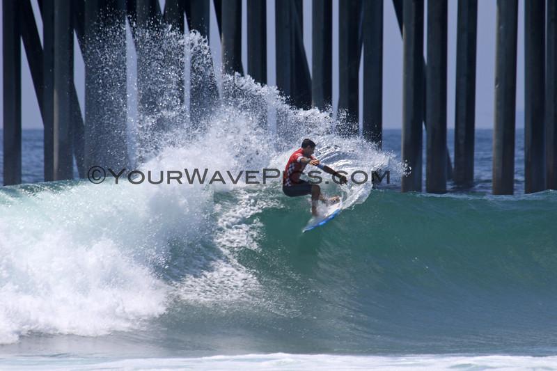 2019-08-04_US Open_Alex_Ribeiro_21_Semis.JPG<br /> <br /> Finals Day, US Open of Surfing 2019