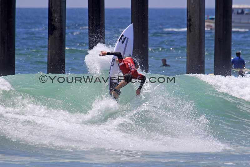 2019-08-04_US Open_Liam_O'Brien_37_Semis.JPG<br /> <br /> Finals Day, US Open of Surfing 2019