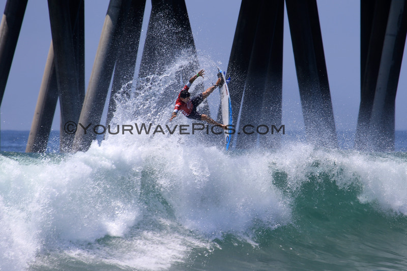 2019-08-04_US Open_Alex_Ribeiro_9_Semis.JPG<br /> <br /> Finals Day, US Open of Surfing 2019