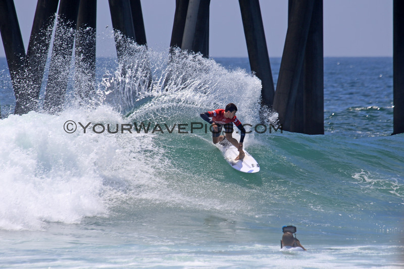 2019-08-04_US Open_Liam_O'Brien_26_Semis.JPG<br /> <br /> Finals Day, US Open of Surfing 2019