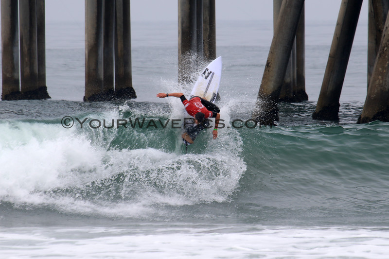 2019-08-04_US Open_Liam_O'Brien_5_Qtrs.JPG<br /> <br /> Finals Day, US Open of Surfing 2019