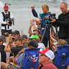 2019-08-04_US Open_Griffin_Colapinto_Fans_1_Qtrs.JPG<br /> <br /> Finals Day, US Open of Surfing 2019