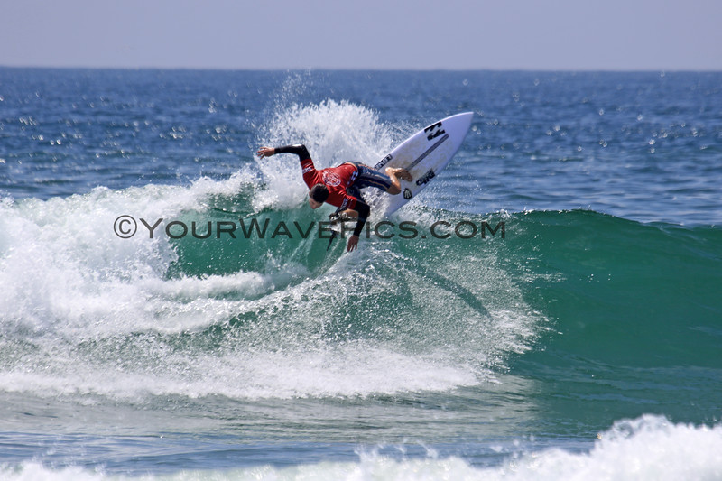 2019-08-04_US Open_Liam_O'Brien_34_Semis.JPG<br /> <br /> Finals Day, US Open of Surfing 2019