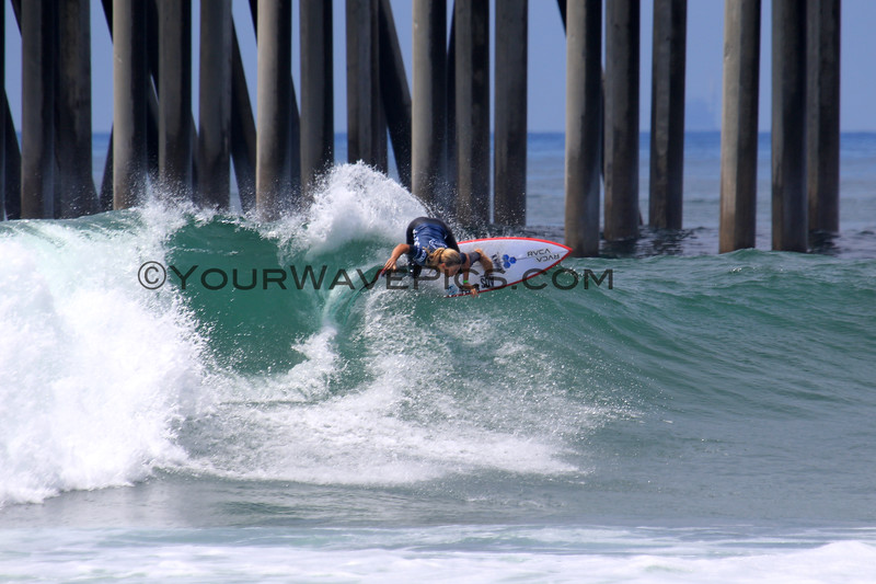 2019-08-04_US Open_Sage_Erickson_2_Semis.JPG<br /> <br /> Finals Day, US Open of Surfing 2019