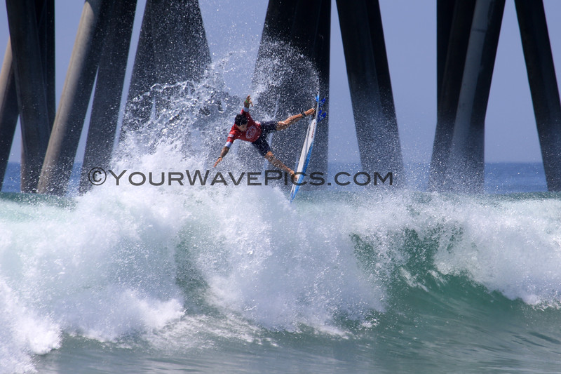 2019-08-04_US Open_Alex_Ribeiro_10_Semis.JPG<br /> <br /> Finals Day, US Open of Surfing 2019