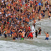 2019-08-04_US Open_Yago_Dora_61_Final.JPG<br /> Men's Champion, Yago Dora, gets chaired up the beach<br /> Finals Day, US Open of Surfing 2019