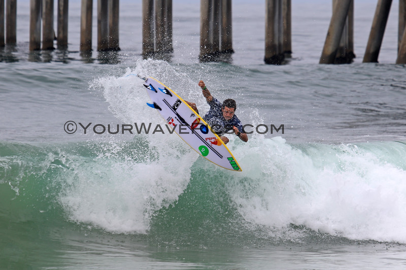 2019-08-04_US Open_Adriano_DeSouza_16_Qtrs.JPG<br /> <br /> Finals Day, US Open of Surfing 2019
