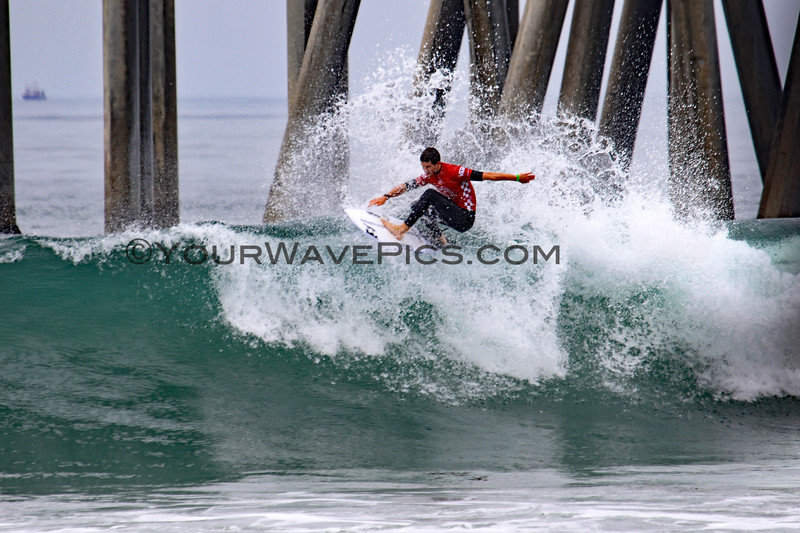 2019-08-04_US Open_Liam_O'Brien_15_Qtrs.JPG<br /> <br /> Finals Day, US Open of Surfing 2019
