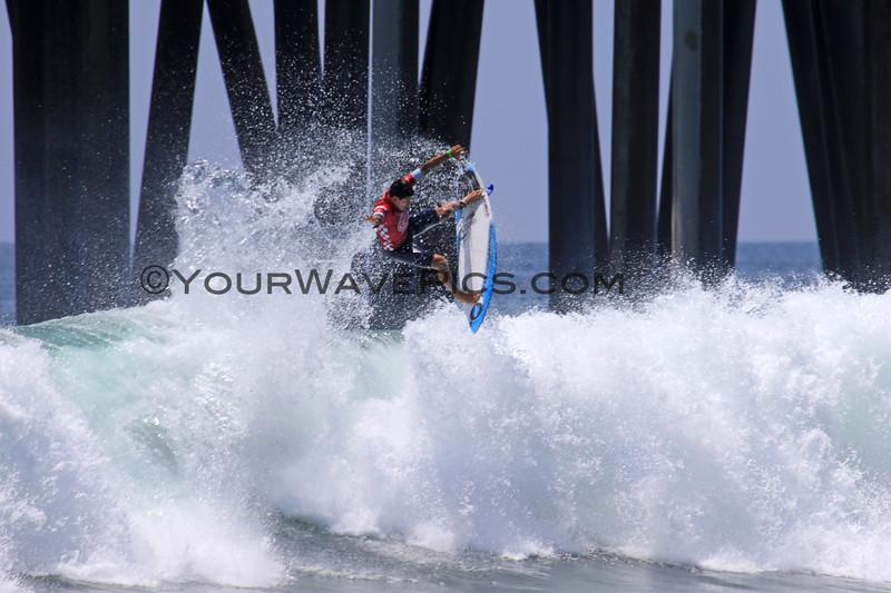 2019-08-04_US Open_Alex_Ribeiro_27_Semis.JPG<br /> <br /> Finals Day, US Open of Surfing 2019