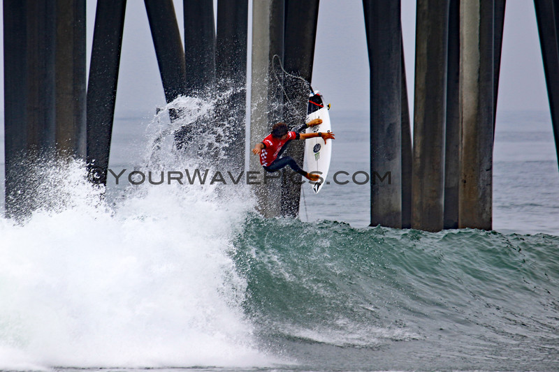 2019-08-04_US Open_Yago_Dora_17_Qtrs.JPG<br /> <br /> Finals Day, US Open of Surfing 2019