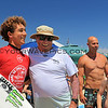 2019-08-02_US Open_Griffin_Colapinto_Don_Colapinto_28.JPG<br /> Mens Round 5 - Griffin stopped by to greet his grandpa on his way out to his heat<br /> <br /> US Open of Surfing 2019