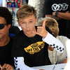 2019-08-02_US Open_Vans Team Signing_7_Michael_February_Keoni_Lasa.JPG<br /> <br /> US Open of Surfing 2019
